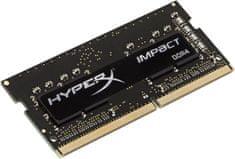 Kingston pomnilnik (RAM) HyperX Impact DDR4/8GB/2400MHz/CL14/SODIMM (HX424S14IB2/8)