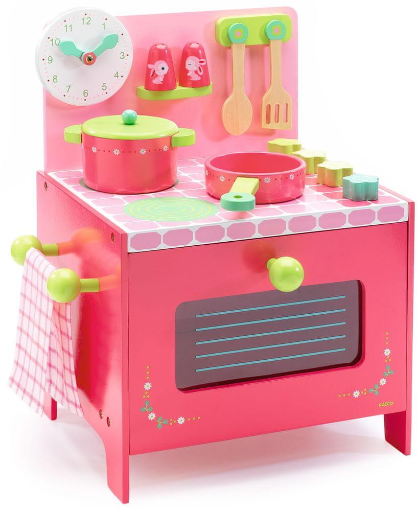 Djeco Dřevěná kuchyňka Lili Rose