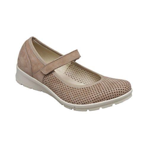 SANTÉ Zdravotní obuv dámská IC/71810 beige (Velikost vel. 42)