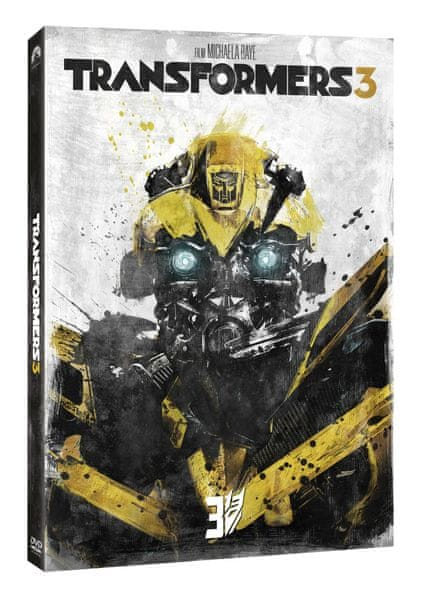 Transformers 3 (steelbook Edice 10 let) - DVD