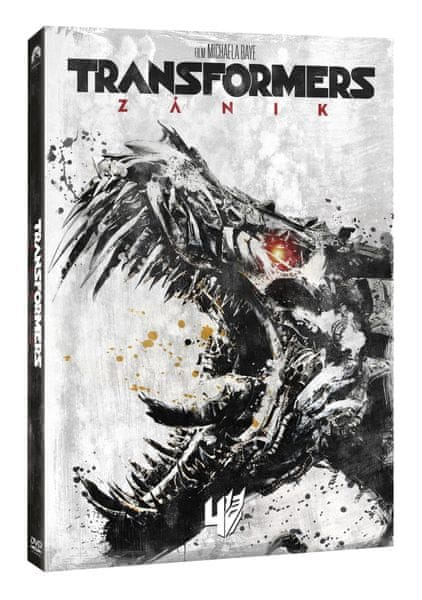 Transformers 4: Zánik (steelbook Edice 10 let) - DVD