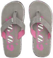 Cool Shoe otroške japonke Eve Slight Girl Steeple 2, sive