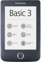 PocketBook czytnik 614+ Basic 3 (PB614W-2-E-WW)