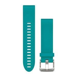 Garmin náhradní řemínek pro Fenix 5S QuickFit™ 20, tyrkysový