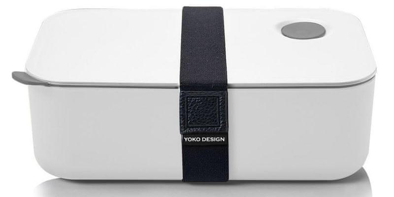 Yoko Design Svačinový box na jídlo 1l bílá
