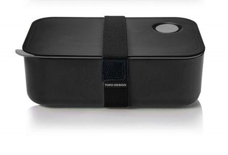 Yoko Design posoda za malico, 1 l, črna