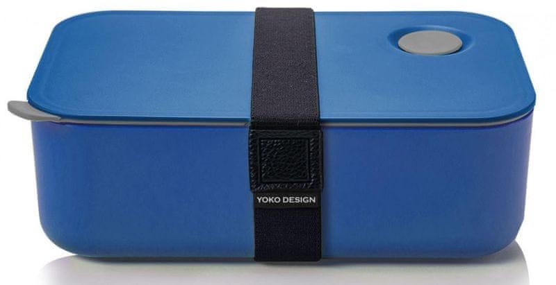 Yoko Design Svačinový box na jídlo 1l modrá