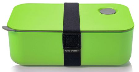 Yoko Design posoda za malico, 1 l, zelena