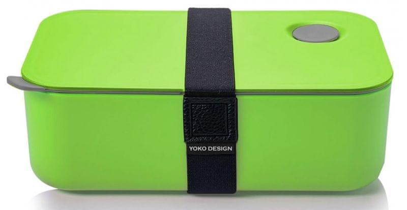 Yoko Design Svačinový box na jídlo 1l zelená