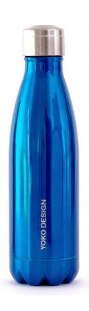 Yoko Design termo steklenica, 500 ml, modra