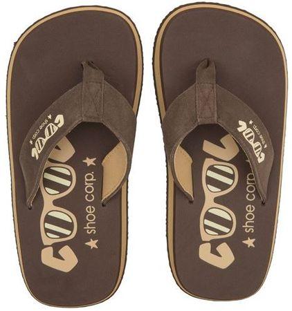 Cool Shoe moške japonke Original, rjave, 41-42