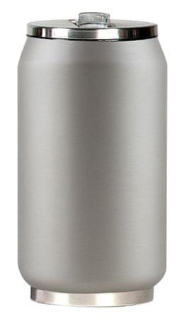 Yoko Design Termohrnek 280 ml stříbrná