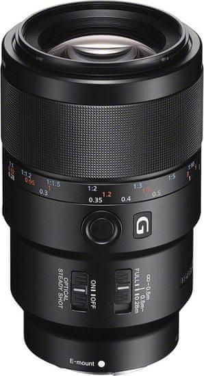 Sony SEL-90M28G objektiv serije E, Macro