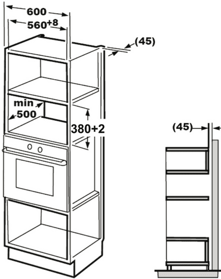 GUZZANTI vestavná mikrovlnná trouba GZ 8602