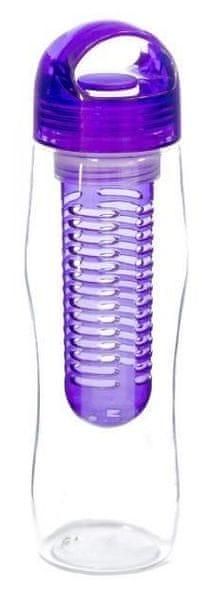 Yoko Design Láhev s louhovacím sítkem 730 ml 0,73 fialová
