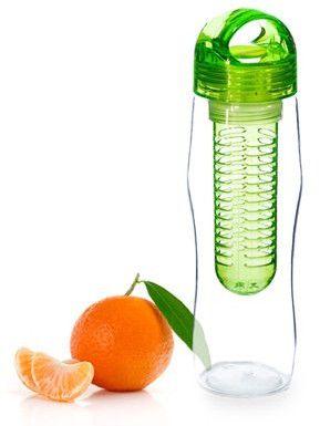 Yoko Design Láhev s louhovacím sítkem 730 ml 0,73 zelená