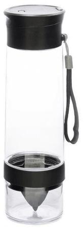 Yoko Design Láhev s lisem na citrusy 750 ml 0,75 černá