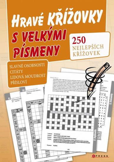 kolektiv autorů: Hravé křížovky s velkými písmeny