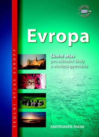Školní atlas/Evropa, 2. vydání