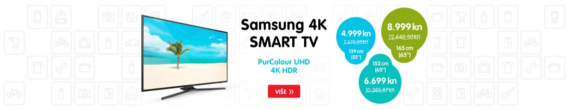 SAMSUNG 4K TV PRIJEMNICI