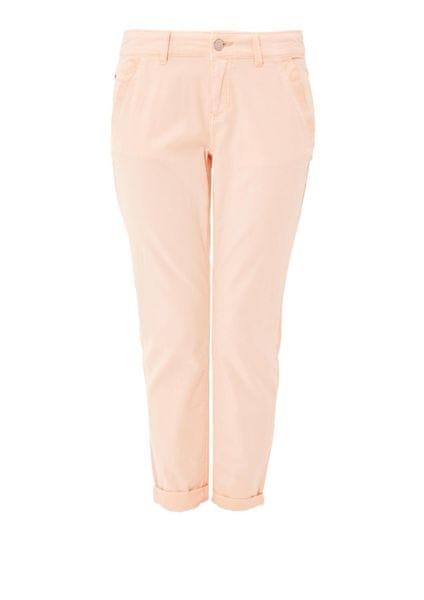 s.Oliver dámské kalhoty 34 oranžová