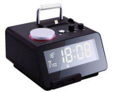 Homtime digitalna alarm ura C12PRO SD/Bluetooth/FM/Aux/Lightning docking