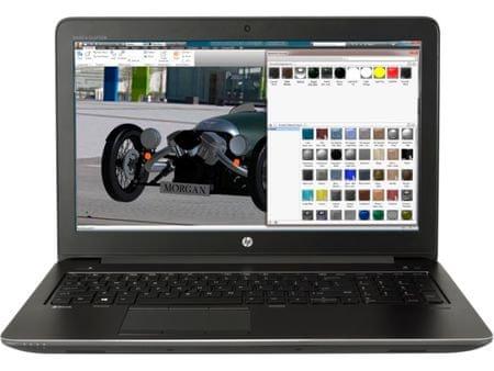 HP prenosnik ZBook 15 G4 i7-7700HQ/8GB/256GBSSD/15,6FHD/QuadroM1200M/Win10Pro (Y6K19EA)