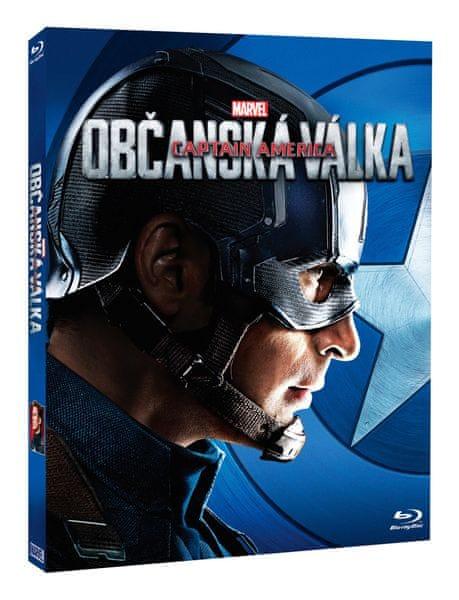 Captain America: Občanská válka - Blu-ray