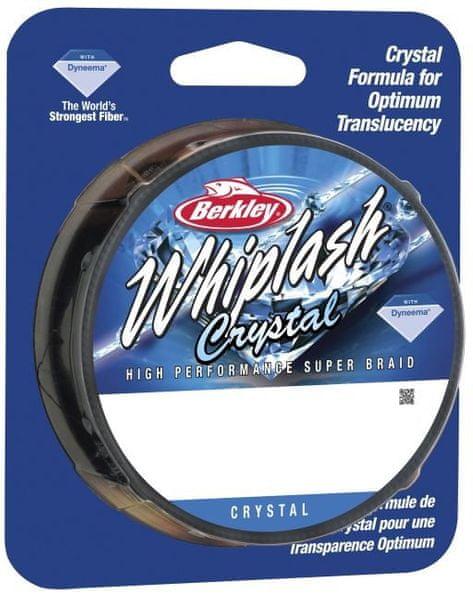 Berkley Splétaná šňůra WHIPLASH 110m Crystal 0,24 mm, 37,8 kg