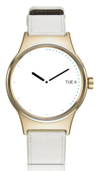 Alcatel TCL MOVETIME Smartwatch, zlatá/bílá