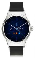 TCL MOVETIME Smartwatch, srebrny/czarny