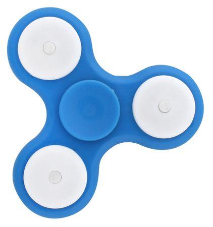 Toro svítící Spinner - modrý