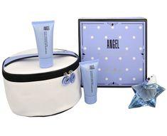 Thierry Mugler Angel - EDP 25 ml (neplnitelná) + tělové mléko 30 ml + sprchový gel 30 ml + kosmetická taška