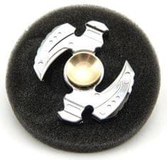 Teddies Fidget Spinner kov v plechové krabičce Duo