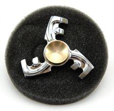 Teddies Fidget Spinner kov v plechové krabičce Trio