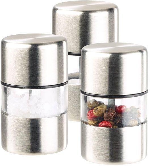 Ceramic Blade Mlýnky na sůl a pepř, keramické kameny, sada 3 ks