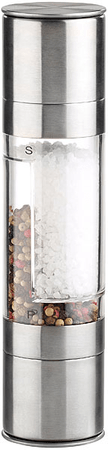 Ceramic Blade Manuální mlýnek 2v1 na sůl a pepř, keramické kameny, 22 cm