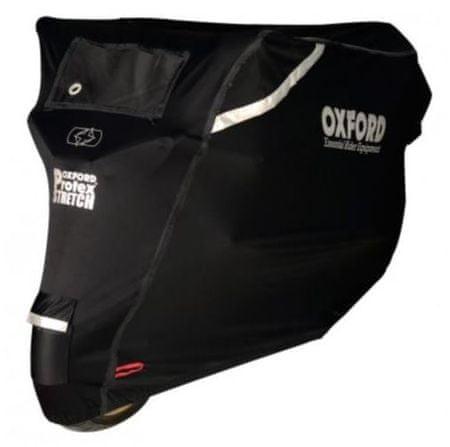 Oxford pokrivalo za motor Protex Stretch, črno, L
