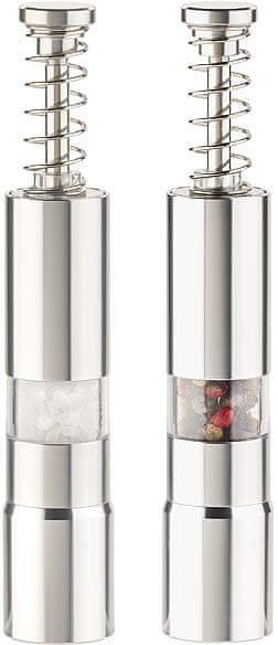 Ceramic Blade Manuální mlýnek na sůl a pepř, sada 2 ks