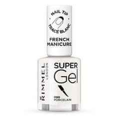 Rimmel Gelový lak na nehty pro francouzskou manikúru (Super Gel French Manicure) 12 ml