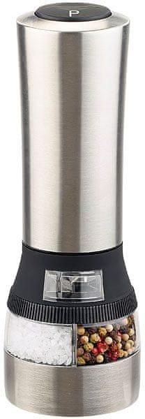Ceramic Blade Elektrický mlýnek na sůl a pepř, keramický
