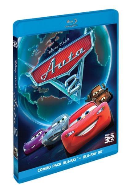 Auta 2 3D+2D (2 disky) - Blu-ray