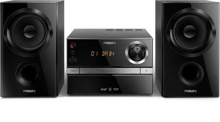 Philips mikro glasbeni sistem BTB1370 (DAB+/FM/BT/MP3/CD)