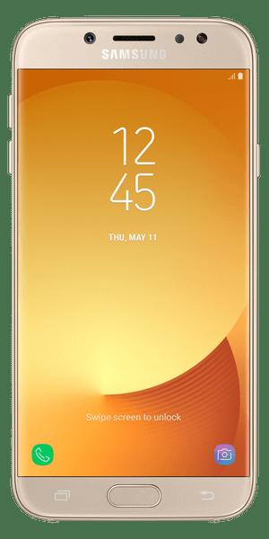 Samsung Galaxy J7, 2017, J730, Dual SIM, zlatý