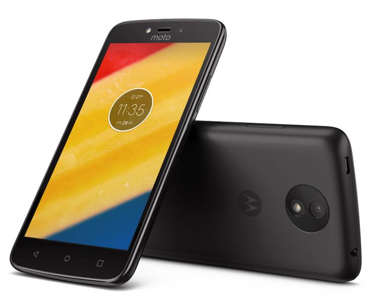 Motorola Moto C Plus (LTE), 16 GB, Dual SIM, Black (PA800049CZ)