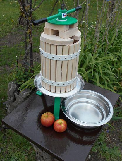TIP stiskalnik sadja, nerjaveče jeklo, 6L