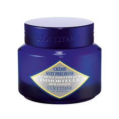 LOccitane EnProvence Hydratační noční krém proti vráskám pro všechny typy pleti (Immortelle Precious Night Cream) 50 ml
