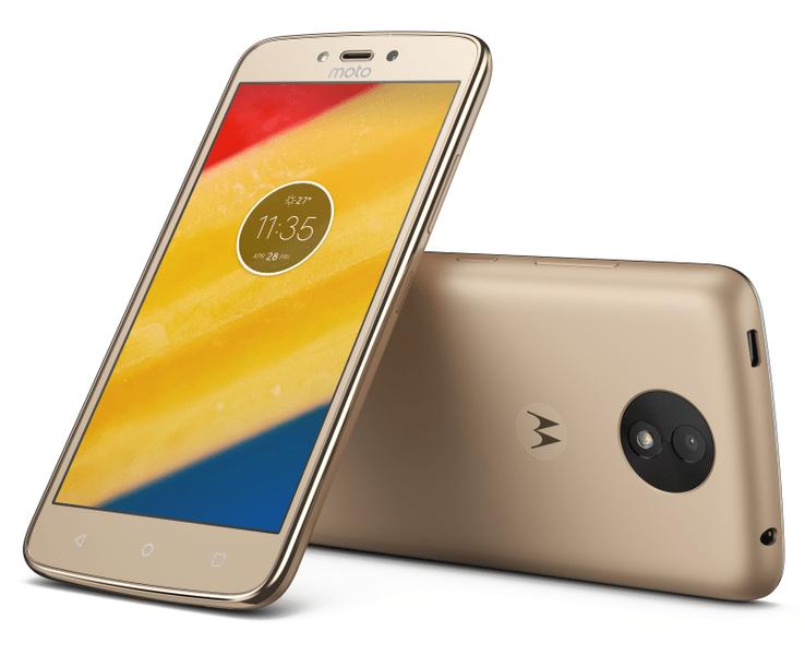 Motorola Moto C Plus (LTE), 2 GB / 16 GB, Dual SIM, Gold (PA800124CZ)