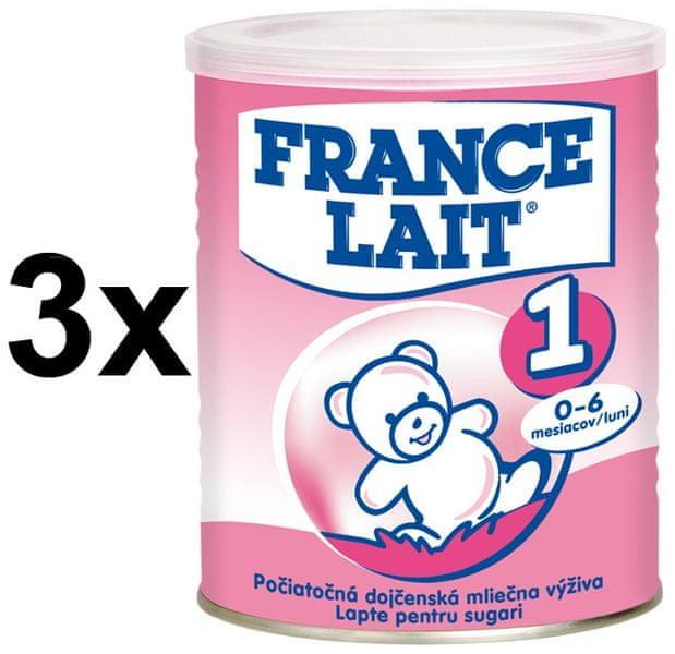 France Lait 1 - 3x400g