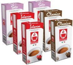 Tiziano Bonini Mix pack kapsle pro kávovary Nespresso 10 ks, 6 balení